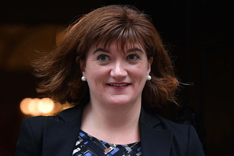 Nicky Morgan has returned to Cabinet despite quitting the Commons (AFP via Getty Images)