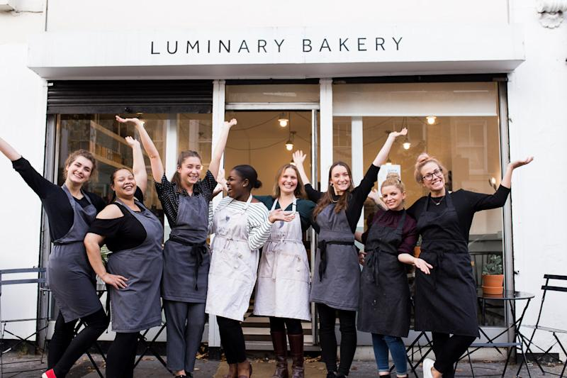 The Luminary Bakery team. [Photos: Luminary bakery]