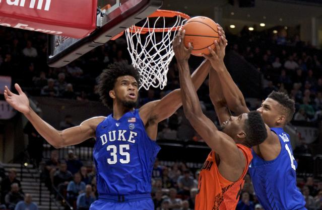 Duke and Florida met in a high-level clash of top 10 teams on Sunday in Portland. (AP)