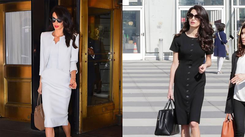 Amal Clooney Is Back in Action—And Looks Better Than Ever
