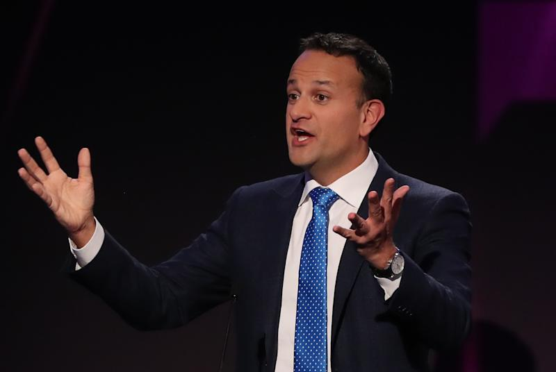 Leo Varadkar urged Boris Johnson to avoid a hardline approach to trade deal negotiations. (Getty)