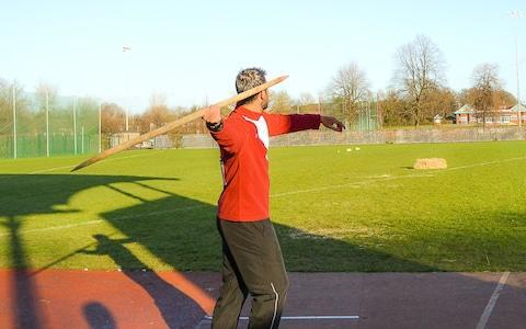 UCL recruited javelin throwers to test the replica spears - Credit: UCL