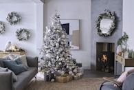 """<p>We're all dreaming of a white Christmas — and this stunning collection helps each of us set the scene in our own <a href=""""https://www.countryliving.com/uk/homes-interiors/interiors/a37031582/print-pattern-home-decor/"""" rel=""""nofollow noopener"""" target=""""_blank"""" data-ylk=""""slk:homes"""" class=""""link rapid-noclick-resp"""">homes</a>. Inspired by the dramatic snowy landscapes and wildlife found in the Scottish Highlands, this trend taps into a timeless colour palette. From warm neutrals to soft blue tones and hues of silver, it's perfect to get your hands on in time for Christmas. <br></p>"""