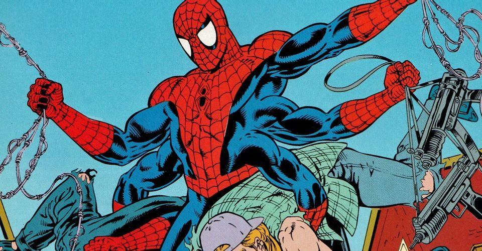 The Six-Armed Spider-Man, a version of Peter Parker from '70s Marvel Comics.