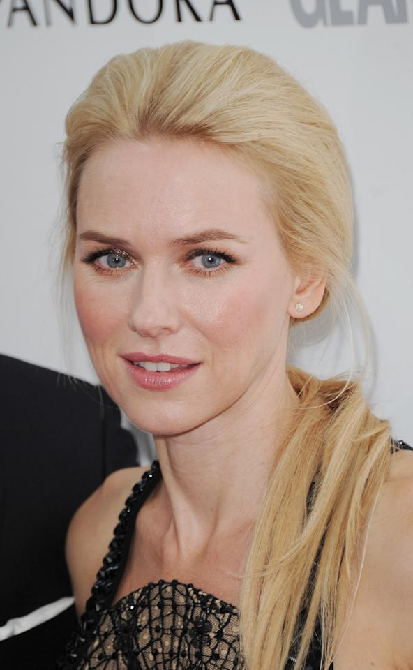 LONDON, UNITED KINGDOM - MAY 29: Naomi Watts attends Glamour Women of the Year Awards 2012 at Berkeley Square Gardens on May 29, 2012 in London, England. (Photo by Stuart Wilson/Getty Images)