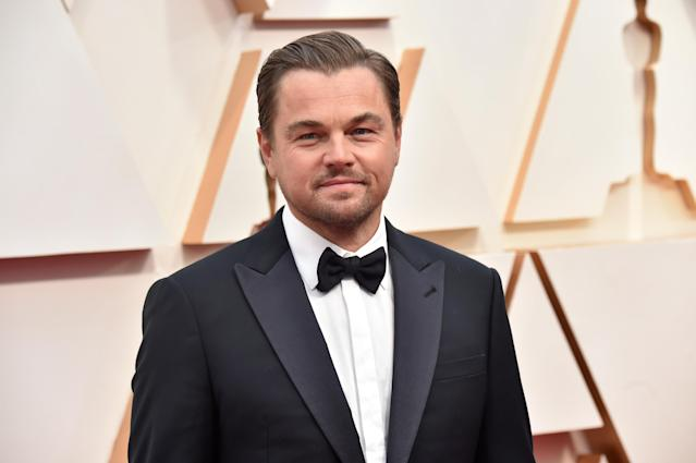 HOLLYWOOD, CALIFORNIA - FEBRUARY 09: Leonardo DiCaprio attends the 92nd Annual Academy Awards at Hollywood and Highland on February 09, 2020 in Hollywood, California. (Photo by Jeff Kravitz/FilmMagic)