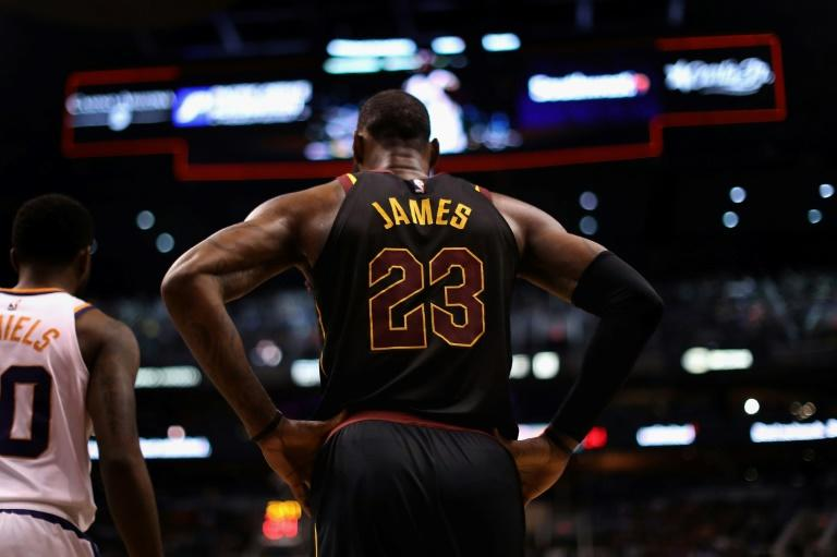 LeBron James scored 35 points, passed out 17 assists and had seven rebounds with no turnovers, making the most assists in any NBA game by a player without losing the ball as the Cavaliers beat Toronto 132-129