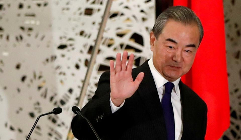 "Chinese Foreign Minister Wang Yi told his Russian counterpart the two neighbours should ""maintain stable relations in a chaotic world"". Photo: Reuters"