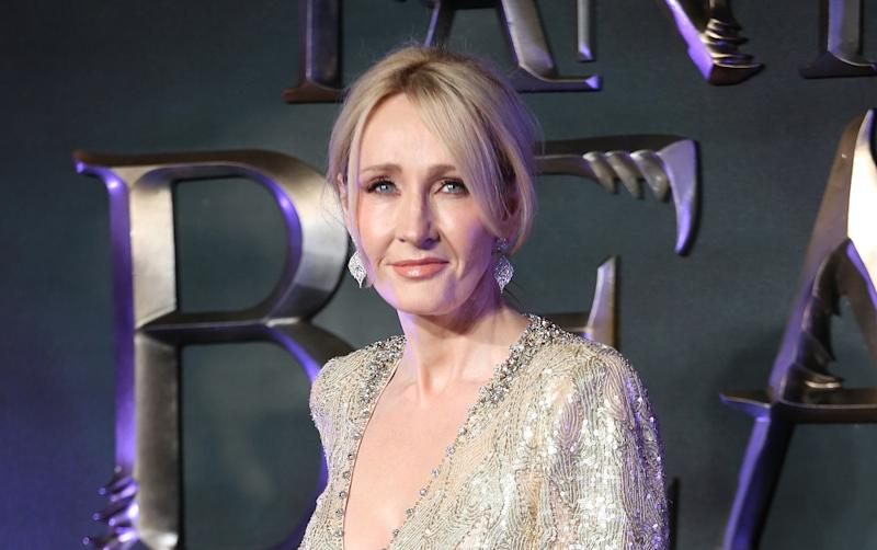 JK Rowling at the UK premiere of 2016's Fantastic Beasts And Where To Find Them UK Premiere (Credit: Lia Toby/WENN.com)