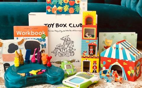 Toy Box Club is a toy subscription service - Credit: Toy Box Club