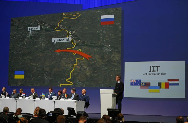 Russian missile downed Malaysia Airlines flight MH17