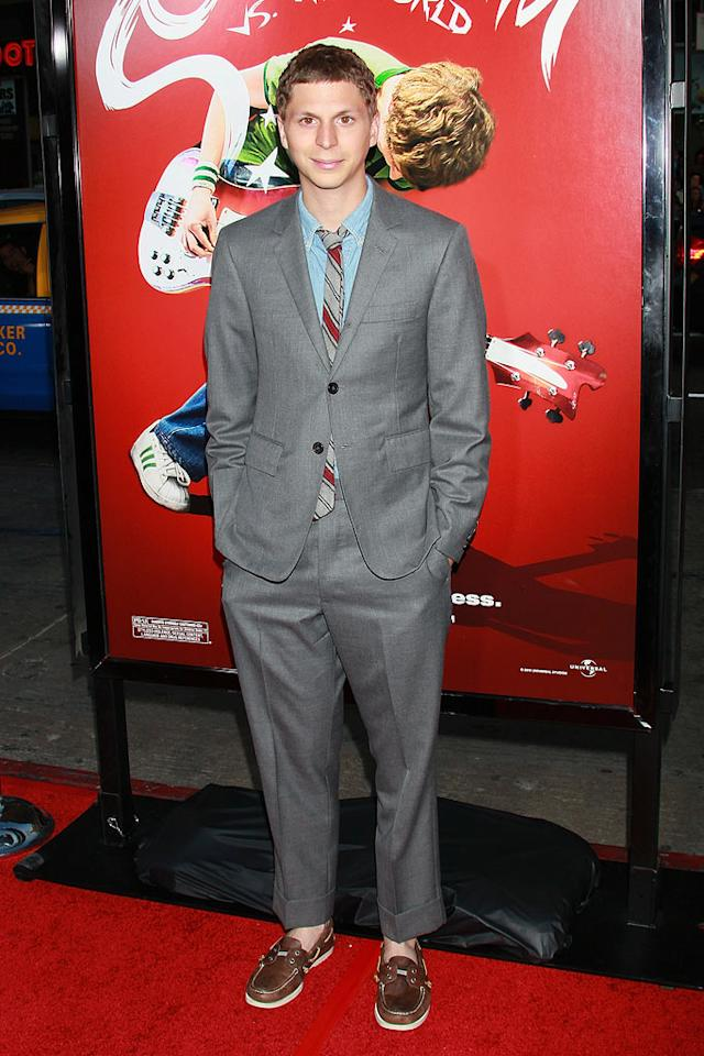 "Loafers sans socks are appropriate for a day at the yacht club, not for the Los Angeles premiere of your new movie, ""Scott Pilgrim vs. The World."" Got that, Michael Cera? David Livingston/<a href=""http://www.gettyimages.com/"" target=""new"">GettyImages.com</a> - July 27, 2010"