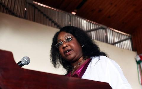 Fatma Samoura was formerly the United Nations' most senior official in Africa - Credit: AFP