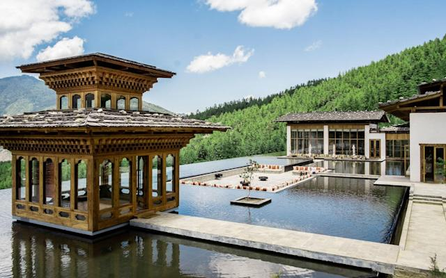 New luxury lodges, such as Six Senses Thimphu, have added to the allure of travelling through Bhutan - ©Christopher Wise