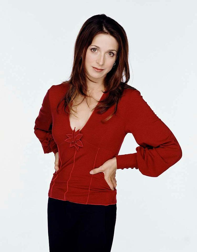 Marin Hinkle stars as Judith in Two and a Half Men.