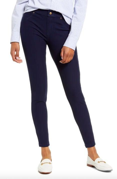 <p>Jeans that are really leggings and are lined with fleece? Sign us up for a pair of <span>Hue Fleece Lined Denim Leggings</span> ($34, originally $54).</p>