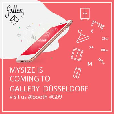 My Size will share a booth with Adia Fashion, January 26-28, 2019 in Dusseldorf, Germany, located at Gallery–Alte Schmiedehalle G09