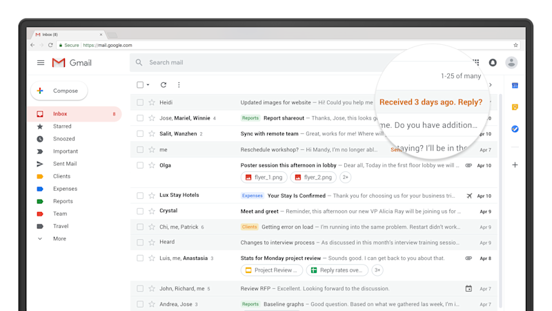 Gmail's Big Redesign Is Rolling Out Now. Here's What to Look For.
