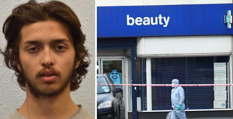 Sudesh Amman was shot dead by police outside Boots in Streatham, South London (PA Images)
