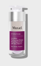 """<p><strong>Murad</strong></p><p>murad.com</p><p><strong>$65.00</strong></p><p><a href=""""https://go.redirectingat.com?id=74968X1596630&url=https%3A%2F%2Fwww.murad.com%2Fproduct%2Finvisiblur-perfecting-shield-spf-30%2F&sref=https%3A%2F%2Fwww.townandcountrymag.com%2Fstyle%2Fbeauty-products%2Fg36214042%2Fbest-sunscreen-for-dark-skin%2F"""" rel=""""nofollow noopener"""" target=""""_blank"""" data-ylk=""""slk:Shop Now"""" class=""""link rapid-noclick-resp"""">Shop Now</a></p><p> Invisiblur Perfecting Shield is a sunscreen and primer in one— ideal for layering underneath a full face of makeup. Go ahead and put on the concealer and contour, this SPF treatment will prime your skin for up to 12 hours.<strong><br></strong></p>"""