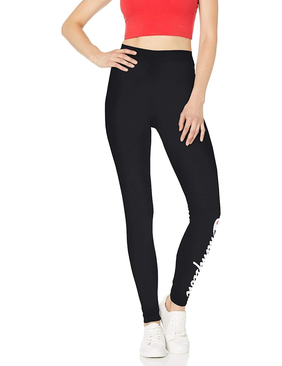 "<br><br><strong>Champion LIFE</strong> Champion Everyday Legging, $, available at <a href=""https://amzn.to/33U2cS4"" rel=""nofollow noopener"" target=""_blank"" data-ylk=""slk:Amazon"" class=""link rapid-noclick-resp"">Amazon</a>"