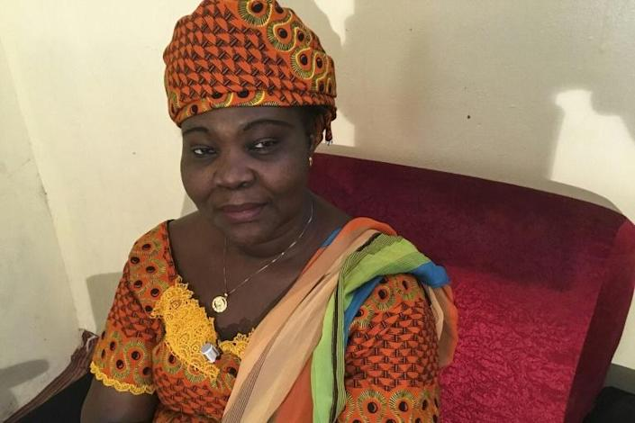 Lydie Beassemda, 54, is the first woman to run for president in Chad's history