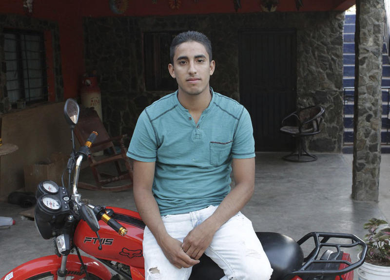In this undated photo provided by the National Immigration Law Center shows Juan Manuel Montes, 23. The U.S. Department of Homeland Security reverses itself on the status of Montes, who may be the first person who qualifies for a program to shield young immigrants to be deported by President Donald Trump. Authorities now acknowledge that Montes, qualified for the Deferred Action for Childhood Arrivals program but still defend the decision to return him to Mexico. (Juan Gastelum/National Immigration Law Center via AP)
