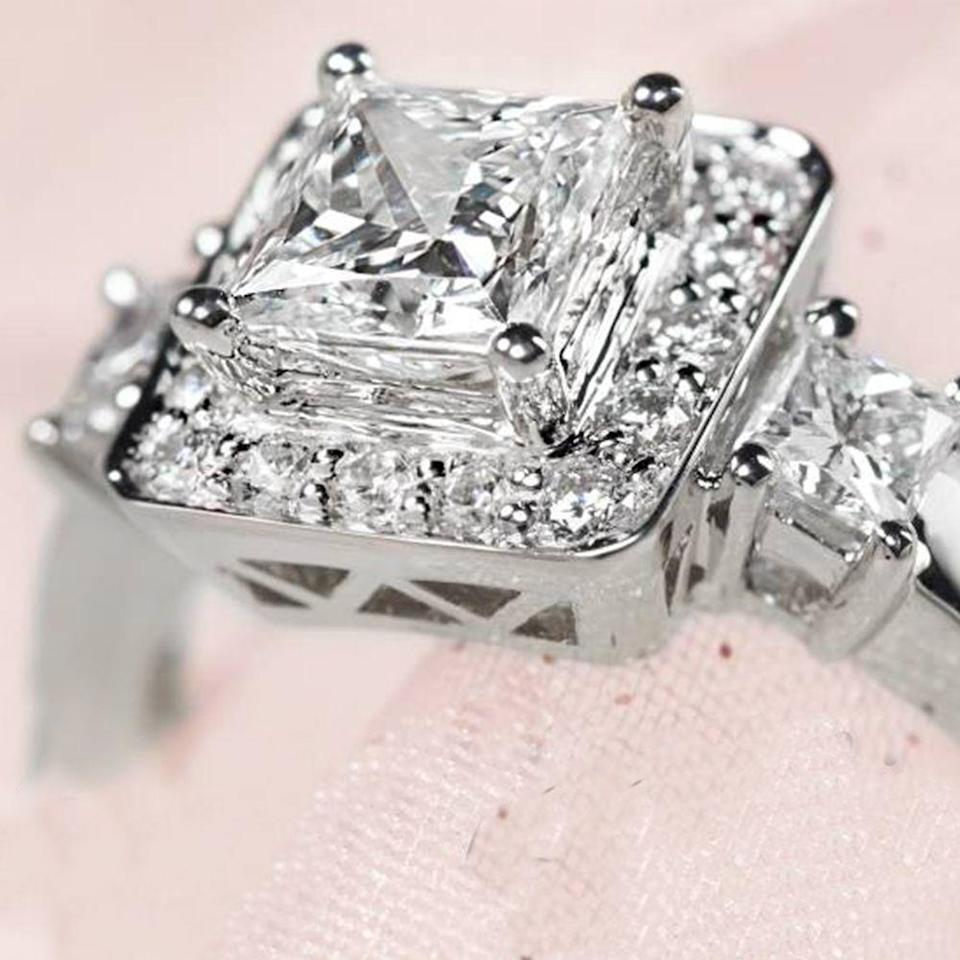 """<p>If you have a few hundred thousand dollars lying around, you can spend it on one item from Costco. The store offers a <a href=""""https://www.marketwatch.com/story/costco-is-selling-400000-tiffany-style-diamond-rings-2019-06-03"""" rel=""""nofollow noopener"""" target=""""_blank"""" data-ylk=""""slk:10-carat diamond ring"""" class=""""link rapid-noclick-resp"""">10-carat diamond ring</a> made of platinum for $419,999.99.</p>"""