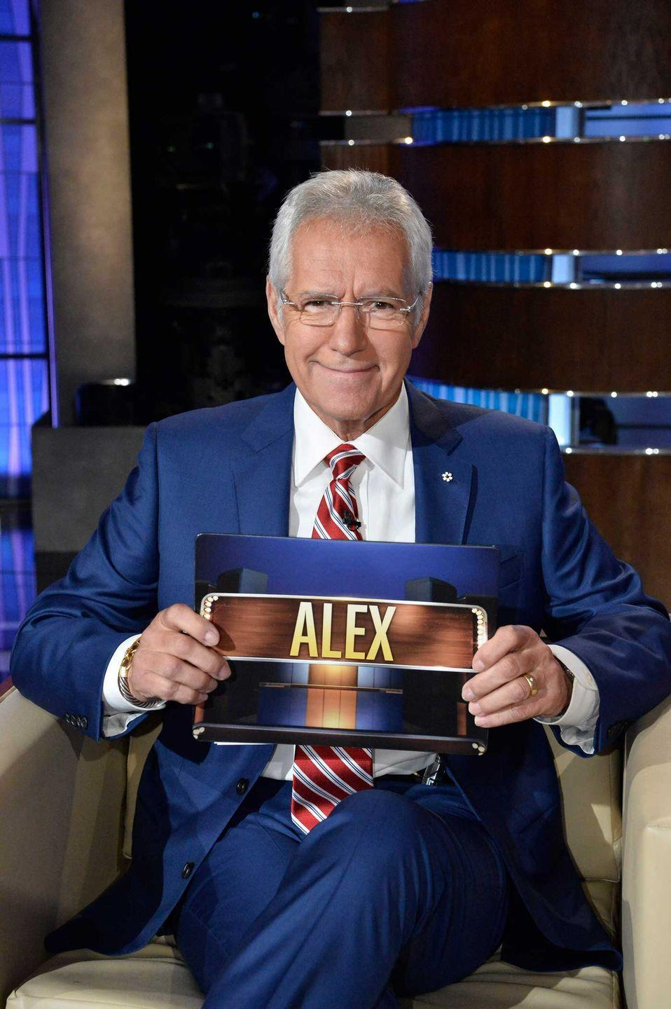 """<p>Alex <a href=""""https://www.etonline.com/alex-trebek-said-he-wanted-to-be-remembered-just-as-a-good-guy-exclusive-156020"""" rel=""""nofollow noopener"""" target=""""_blank"""" data-ylk=""""slk:told ET"""" class=""""link rapid-noclick-resp"""">told ET</a> in May 2019 that he wanted to be remembered as """"Just as a good guy, a nice man. Somebody that you looked at on television on a daily basis and said, 'Hey, you know what, I like him.'""""</p>"""