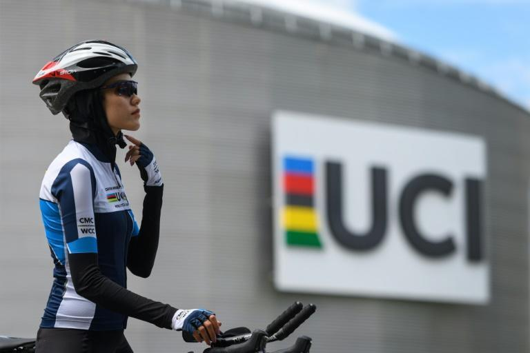 Afghan refugee road cyclist Masomah Ali Zada:`It's extremely painful being forced to leave your own country'