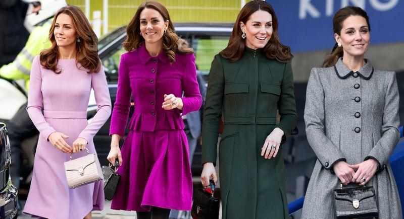 The Duchess of Cambridge has previously worn Aspinal of London's Midi Mayfair Bag - and it's now on sale. (PHOTO: Getty Images)