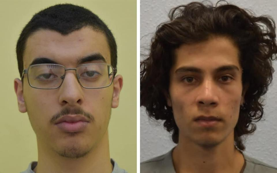 Hashem Abedi (left) and Ahmed Hassan