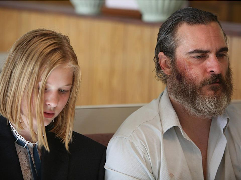 """""""You Were Never Really Here"""" follows a veteran who tracks down a missing girl."""