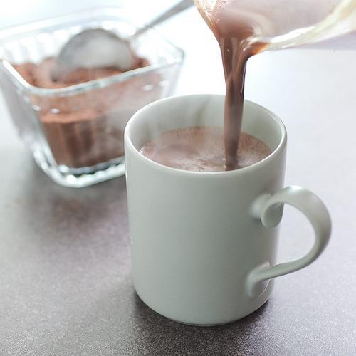 Luxuriously Thick and Creamy Hot Chocolate for a Snow Day
