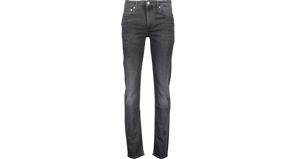 CALVIN KLEIN JEANS Black Slim Fit Denim Jeans