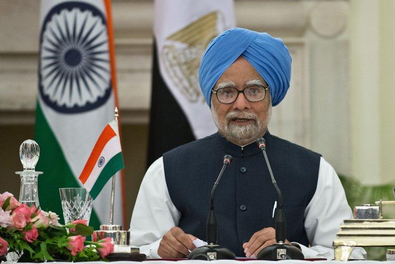Indian Prime Minister Manmohan Singh speaks in New Delhi on March 19, 2013