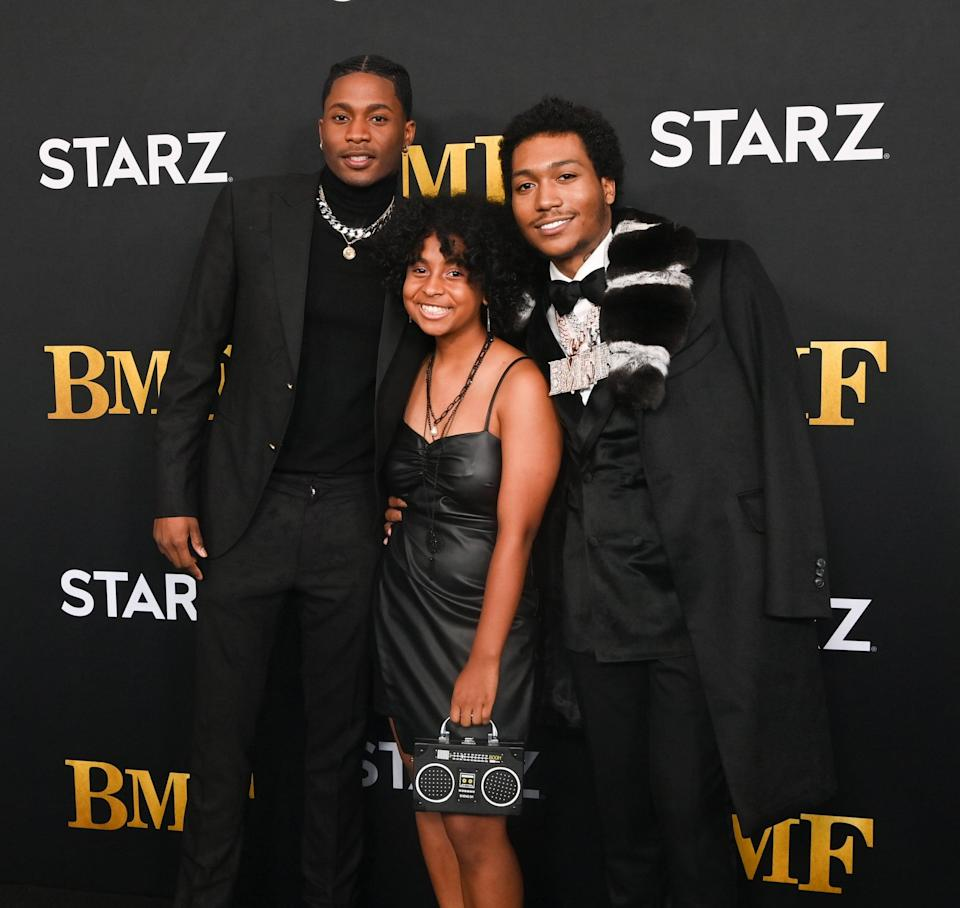 We Get It, We're Loving the Cast of BMF as Much as You Are