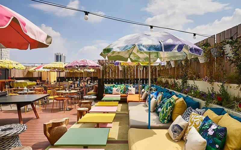 You'll find quirky design and a noteworthy breakfast and rooftop bar at Mama Shelter Paris - FRANCIS AMIAND