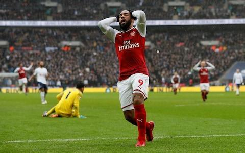 """Harry Kane was famously told aged eight that he was no longer required by Arsenal. Yet in the last seven months alone, the club he left 16 years ago have spent around £102 million on two strikers who may never reach the levels of Tottenham Hotspur's main man. A sobering thought for the team that were second best in this north London derby by some distance in terms of performance but were beaten by the slender margin of one Kane goal, his seventh in this, his seventh derby match. """"A super striker who is one of the best in the world and he scores against everybody,"""" was the day's most telling description of Kane, who had a magnificent game, and it was offered by Arsene Wenger in defence of his own players' shortcomings against the Spurs striker. Kane symbolises the new Tottenham, still without a trophy in the Mauricio Pochettino era but a dynamic, high-pressing team who face Juventus in Turin on Tuesday with renewed belief that they can compete against the best teams in Europe. Their record now stands at seven points in total from their games against Manchester United, Liverpool and Arsenal and this was as good as anything they produced at Wembley against United, dominating a second half during which they should have put Arsenal away. Spurs 1 - 0 Arsenal (Harry Kane, 49 min) As it was, Wenger's team were almost given an escape route in the closing stages when the substitute Alexandre Lacazette went through in the third minute of injury time and missed the target. Rattled for the first time, Mousa Dembele conceded a free-kick on the edge of the area and with practically the final kick of the game, Mesut Ozil, the best-paid player in the history of Arsenal, clipped his shot into the Spurs wall, which was no more than his side deserved. Wenger railed against what he saw as the missed opportunities of the first half with the highly debatable claim that Arsenal should have had the game won by the break. """"We missed opportunities on the counter-attack that are not missable a"""