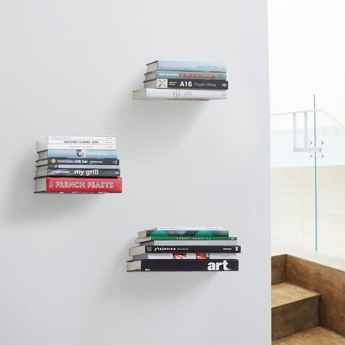 <p>This <span>West Elm Conceal Shelf</span> ($29) is chic and minimal.</p>