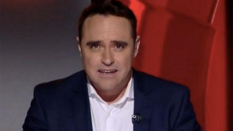 """Officers will allege Ben McCormack was involved in """"chat and exchange of pictures"""" relating to child pornography during the past two years. Photo: Channel Nine."""