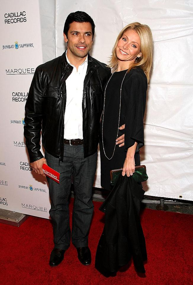 "Kelly Ripa blasted tabloid reports that she and her husband of 12 years Mark Consuelos are on the outs. A rep for the Daytime diva told Us Weekly that there is no truth to the story. Bryan Bedder/<a href=""http://www.gettyimages.com/"" target=""new"">GettyImages.com</a> - December 1, 2008"