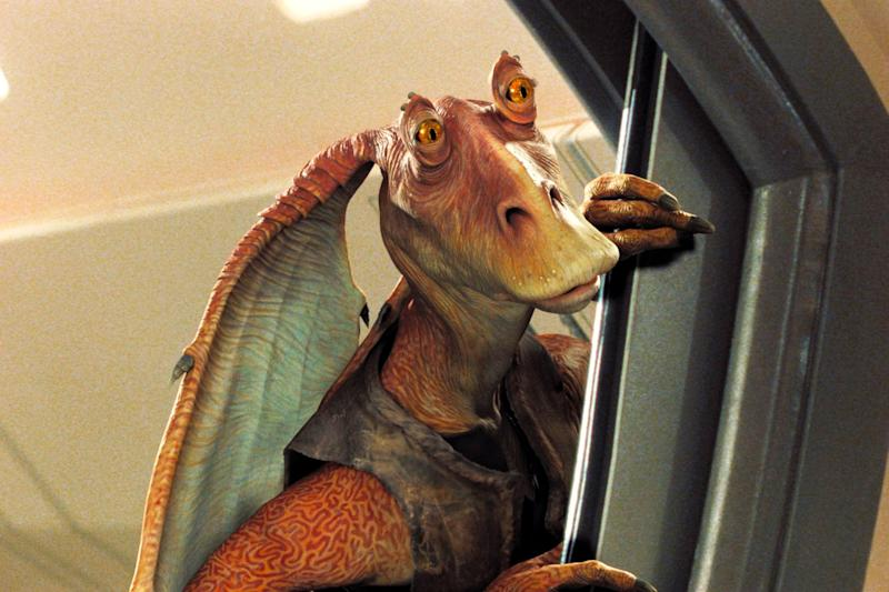 Mesa fired! Jar Jar Binks won't make an appearance in new Star Wars films