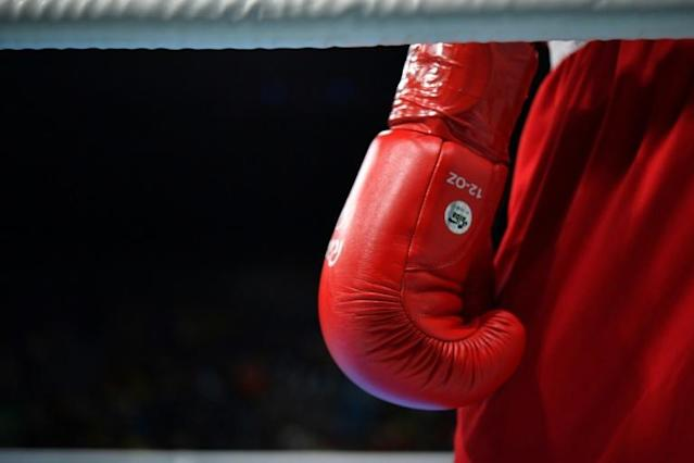 European Olympic boxing qualifiers in London have been suspended (AFP Photo/Yuri CORTEZ)