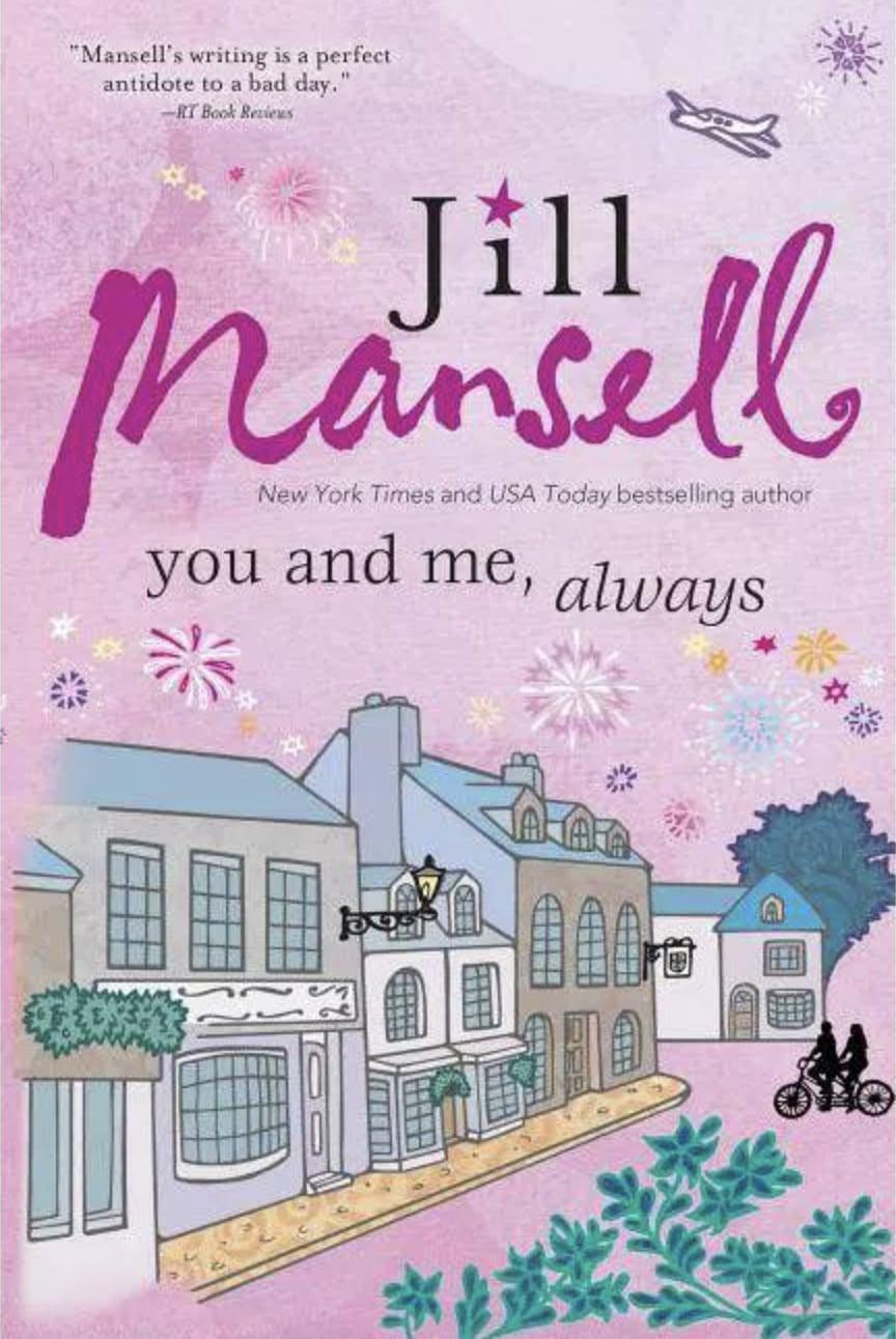<p><span><strong>You and Me, Always</strong> by Jill Mansell</span> ($18) is a delightful and heartwarming story that centers on friendship and love. In the idyllic English village of Stanton Langley, Lily is on a journey to learn more about her late mother's past. At the same time, she starts falling for a movie star who's come to the village to get away from fame. </p> <p>With intertwined characters who each have their own story, this book would play out on the big screen similar to movies like <strong>Love Actually</strong> or <strong>Valentine's Day</strong>. It's witty and charming with multigenerational characters you'll fall in love with.</p>