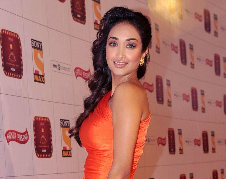 Bollywood actress Jiah Khan attends the Stardust Awards ceremony in Mumbai, on January 26, 2013