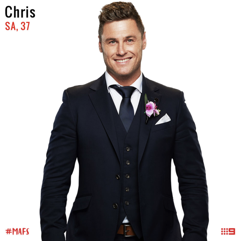 married at first sight groom chris