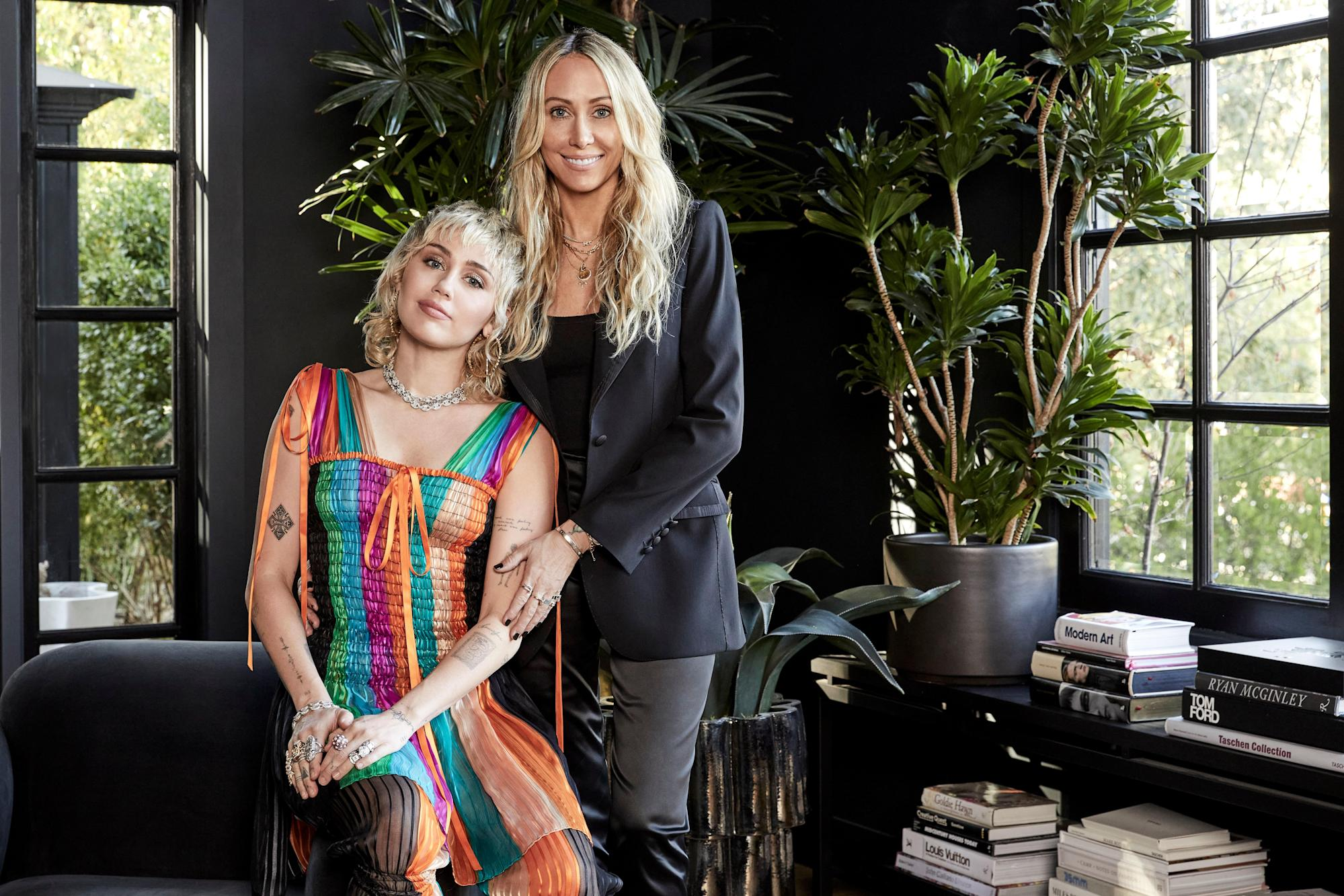 Step Inside Miley Cyrus's Beautifully Boisterous Los Angeles Home—Which Was Designed by Her Mom, Tish