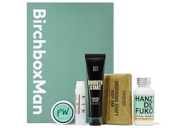 """<p>birchbox.com</p><p><a href=""""https://go.redirectingat.com?id=74968X1596630&url=https%3A%2F%2Fwww.birchbox.com%2Fsubscribe%2Fmen&sref=https%3A%2F%2Fwww.countryliving.com%2Fshopping%2Fgifts%2Ftips%2Fg1528%2Fgift-ideas-for-men%2F"""" rel=""""nofollow noopener"""" target=""""_blank"""" data-ylk=""""slk:Shop Now"""" class=""""link rapid-noclick-resp"""">Shop Now</a></p><p>Give him a gift that keeps on giving! With this subscription box, he'll receive a monthly package with a mix of 5 deluxe samples from a variety of men's grooming brands.</p>"""