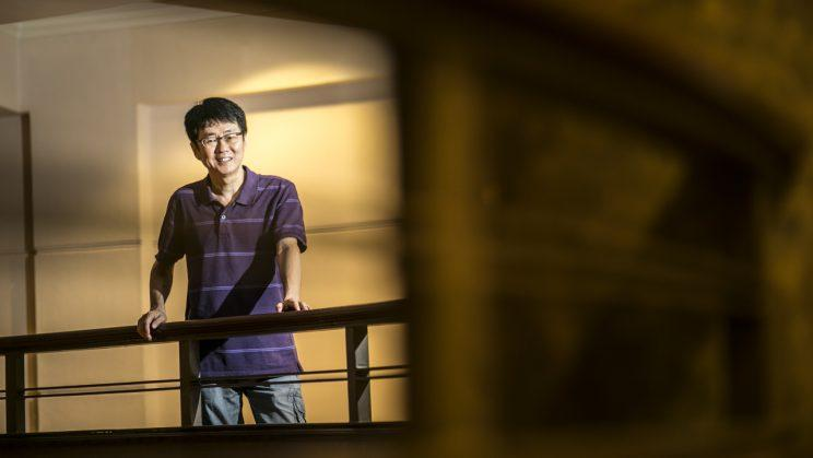 Kwoh Choo Chye was retrenched from his supervisor job at an electronics firm in 2014. (Photo: NTUC)